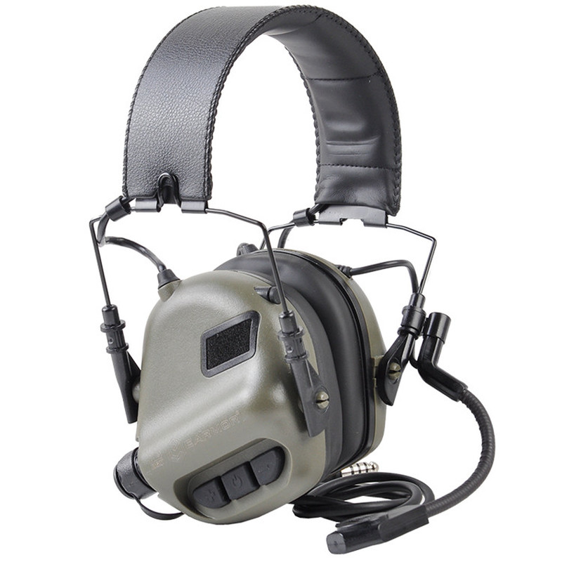 OPSMEN Earmor Tactical Headset M32 MOD3 Noise Canceling Headphones Military Aviation Communication Softair Earphones Shooting