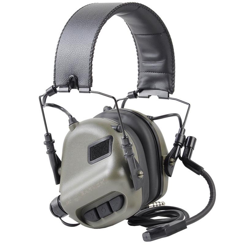 OPSMEN Earmor Tactical Headset M32 MOD3 Noise Canceling Headphones Military Aviation Communication Softair Earphones Shooting