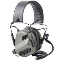OPSMEN Earmor zestaw słuchawkowy taktyczna M32 MOD3 słuchawki z redukcją hałasu lotnictwa wojskowego komunikacji Softair słuchawki fotografowania w Taktyczne zestawy słuchawkowe i akcesoria od Sport i rozrywka na