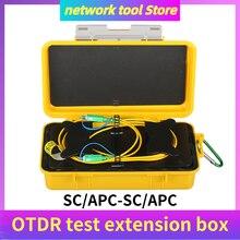 SC/APC SC/APC OTDR Optische Faser Kabel Test Verlängerung Kabel Otdr Emission Kabel Tote Zone Eliminator Einzigen Modus 500M 1000M 2000M