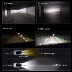 Image 5 - PANUDUK автомобильный светильник зэс H4 светодиодный H7 H11 3000K 6000K 8000K HB3 9005 HB4 9006 светодиодные лампы для автомобильных фар светодиодный головной светильник s лампочки 50 Вт 6000LM фары авто X3