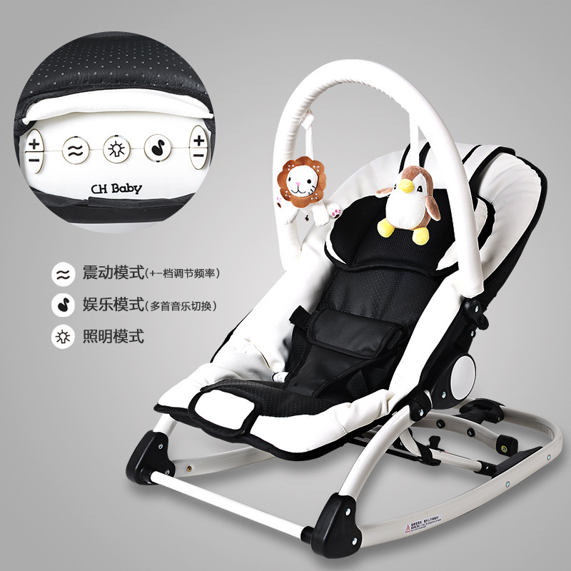 Hff3fe7b3f2704c248d878e421905d61dq Baby cradle electric baby rocking chair baby swing sleeping cradle bed with music comfort rocking chair Multifunctional berceau