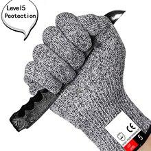 5 класс порезостойкие перчатки высокопрочные полиэтиленовые HPPE вязаные кухонные Обрезанные перчатки деревообрабатывающие Убойные перчатки с покрытием