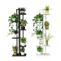 Chlorophytum Blume Airs EINE Wohnzimmer Schlafzimmer Blume Rack Multi stöckige Indoor Eisen Kunst Balkon Blume Rack Regal Haushalt-in Pflanzenregale aus Möbel bei
