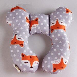 Image 5 - תינוק כרית יילוד עגלת תינוקות שינה כרית ילדים תינוק ראש תמיכה עבור תינוקות Dropshipping תינוק עגלת צוואר כרית