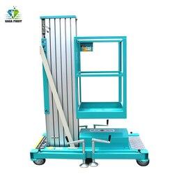 Przenośna aluminiowa bezpieczna stabilna platforma robocza do dekoracji