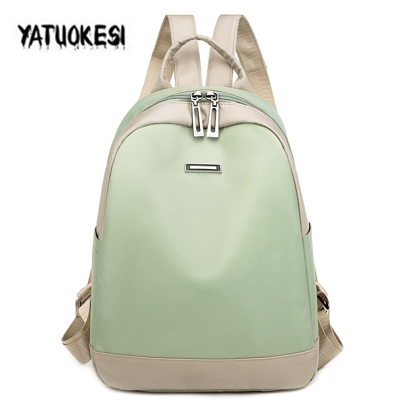YATUOKESI 2020 New Fashion  Women Backpack High Quality Waterproof Women Schoolbags Teenager Girls Casual Travel Bags For Women