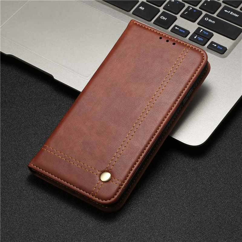 Leather Case for RedMi Note 9S 9 8T 7 8 Pro Max K30 8A 7A Magnet Flip Book Case Cover on For Xiao Mi 9T 9 Note 10 Pro A3 Lite|Flip Cases| |  - title=