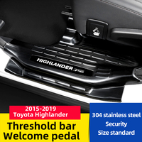 2015-2019 for Toyota highlander threshold bar modified welcome pedal decorative accessories Welcome pedal Rear Guard