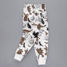 Летние Детские Классические леггинсы в полоску с принтом для малышей штаны для мальчиков и девочек леггинсы для девочек От 3 до 12 лет леггинсы для маленьких девочек