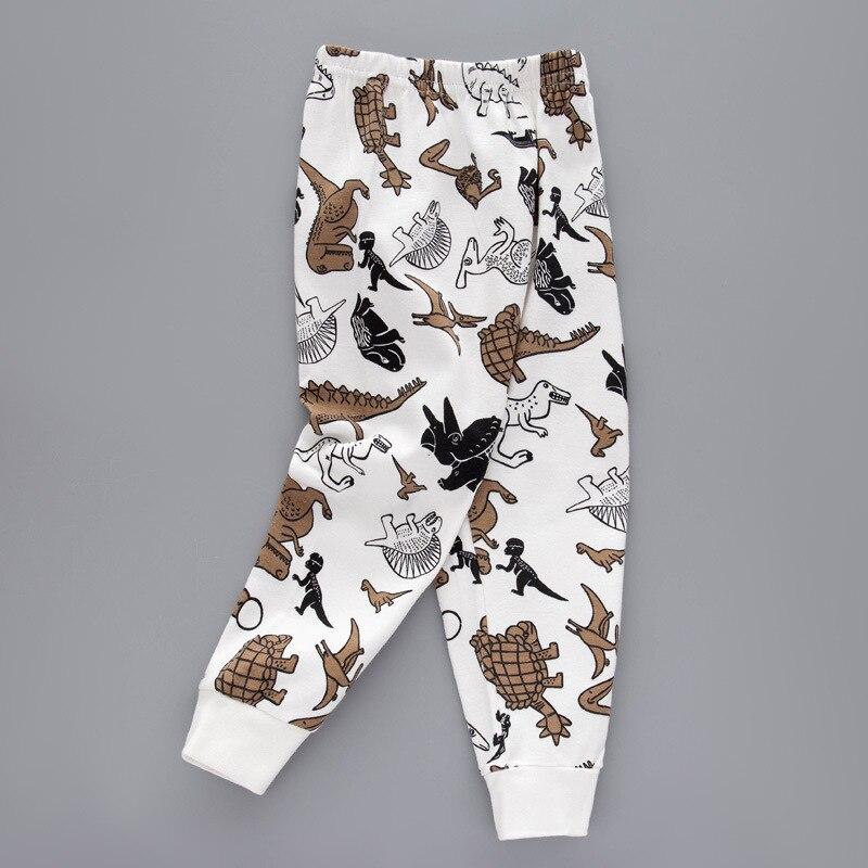 Летне-осенние детские штаны с принтом в полоску; Классические леггинсы для малышей, штаны для мальчиков и девочек, От 3 до 12 лет, зимнее нижне...