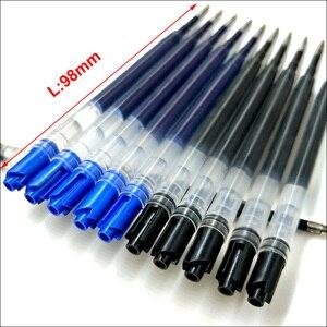 Image 2 - סיטונאי ניטראלי כחול שחור ג ל עט מילוי משרד כתיבה 424 G2 ג ל דיו 0.5mm עט ציפורן מכירות