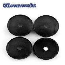 Tapa de cubo de rueda de 61mm, compatible con ruedas WRX Alessio, MonteCarlo, MSW tipo 85, Rial Imola, 68706, 68714, para llantas de centro, 4 uds.