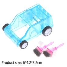 Mini Car Table Dust Cleaning Trolley Desktop Dust Cleaner Confetti Pencil Eraser Dust Sweeper
