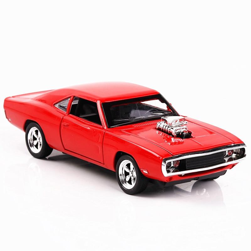 Zhenwei Muscle Dodge War Horse Alloy Car Model 1:32 Die Cast Model Car Pull Back  Light Sound Cars Toys Christmas