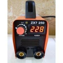ZX7-250 220V 10-250A портативный мини ММА Электрический палку сварочный аппарат инверторный Сварочный электродуговой аппарат для обработки металлов сварочные инструменты