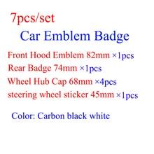 Черная основа с эмблемой для капота BMW M3 M5 G30 F30 F31 E36 E39 E87 E60 E46 E91, 82 мм/74 мм/45 мм/68 мм