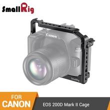 SmallRig Cage for Canon EOS 200D Mark II/200D/EOS Rebel SL3/EOS Rebel SL2/EOS 250D/EOS Kiss X10/EOS Kiss X9 Dslr Camera Cage2442