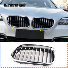 Silver racing grilles for f10 f11 bmw 5 series 2010-2016 M5 style quality front kidney grill for 520i 525i 530i 535i hood nose high quality new heater blower resistor for bmw e34 525i 530i 535i 540i m5 64118391699