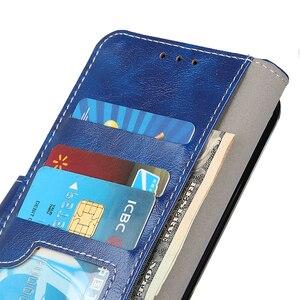 Image 4 - רטרו Flip עור ארנק כרטיס חריצי כיסוי מקרה עבור סמסונג גלקסי הערה 10 בתוספת S10 S9 בתוספת A10 A10S A10E a20 A20E A30 A50 A70