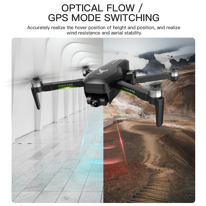 ZLRC SG906 / SG906 Pro 2 GPS Drone with Wifi FPV 4K Camera Three-axis anti-shake Gimbal Brushless Professional Quadcopter Dron 4