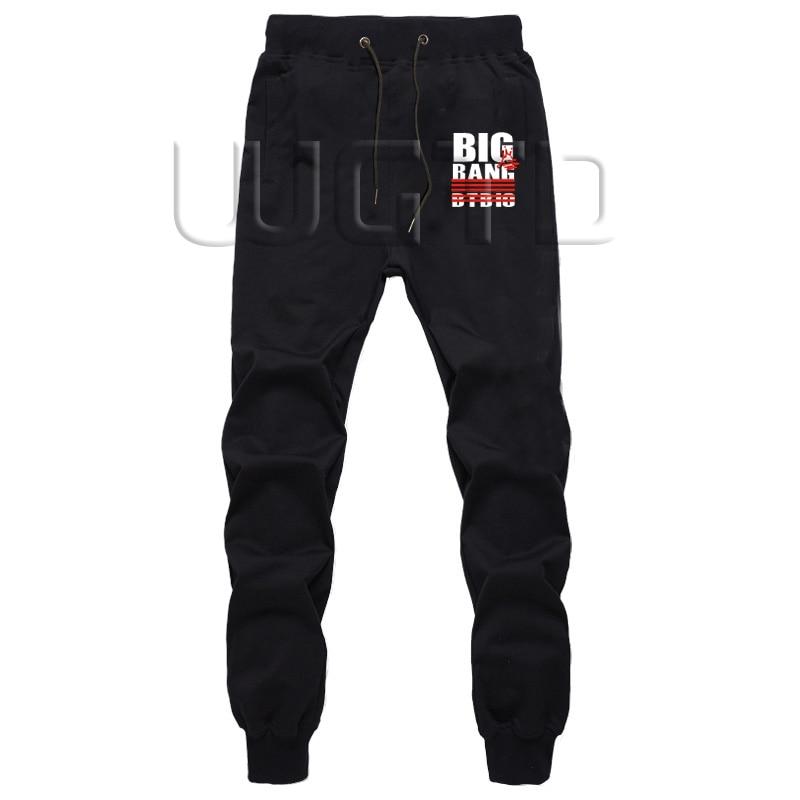 BigBang G-DRAGON SOL D-LITE T.O.P V.I Summer Pants Men's Sweatpants With Pockets Fitness LongTrousers Jogger Pants