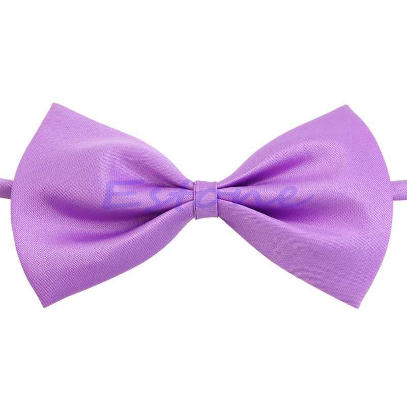 Lot enfants filles garçons bambins noeud papillon pré attaché mariage nœud papillon plaine cravate D08C