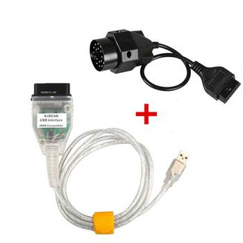 For BMW INPA K+CAN K CAN INPA With FT232RL Chip with Switch for BMW INPA K DCAN USB Interface Cable With 20PIN for BMW image