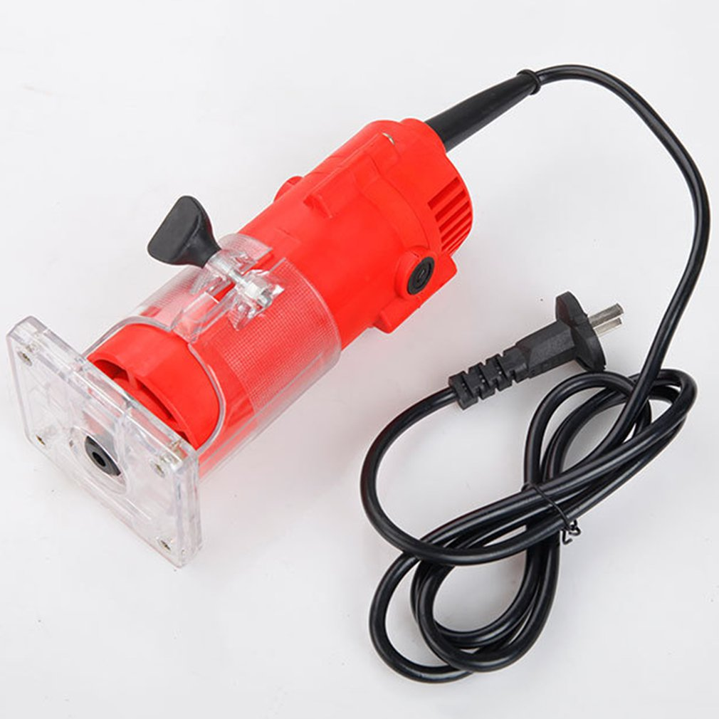 850W 33000rpm Woodworking Electric Trimmer Router Edge Wood Clean Cuts Power trim router Lathe Live Center Taper Tool