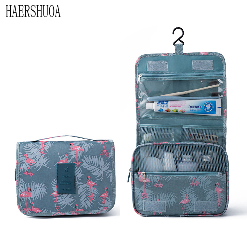 New Travel Cosmetic Bag Quality Portable Protective Cover Bathroom Storage Bag Cosmetic Bag Ladies Wash Bag Men Travel Wash Bag