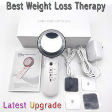 Cavitação ultra-sônica ems corpo emagrecimento massageador perda de peso anti celulite queimador de gordura remendo galvanic máquina de terapia infravermelha
