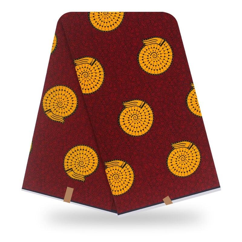 New Guaranteed Real Dutch Wax Block Prints In Original Wax 100% Cotton Veritable Wax Veritable African Ankara Fabric Aso Ebi