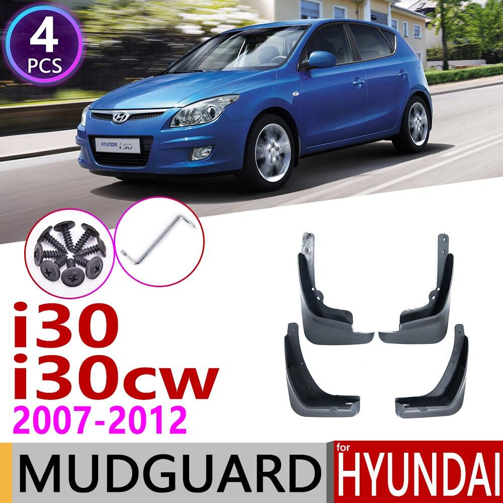 Car Mudflap For Hyundai I30 I30cw Wagon 2007~2012 FD Fender Mud Guard Flap Splash Flaps Mudguard Accessories 2008 2009 2010 2011