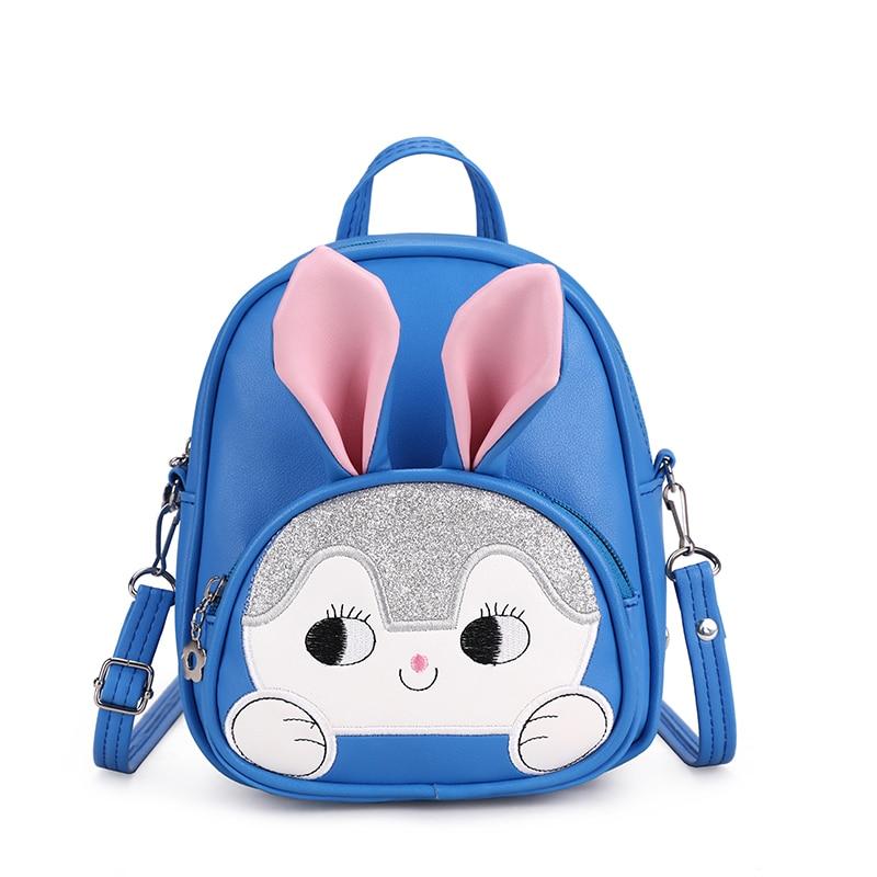 Toddler Backpack Girl Student Knapsack Kids Children Cartoon 3D Rabbit  Schoolbag Mini Casual School Bags