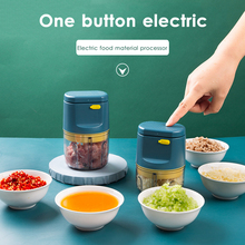 Portable Mini Electric Food Chopper Fruit Vegetables Tools USB Meat Crusher Meat Grinder Chopper Garlic Cutter Garlic Masher