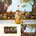 Фон для фотосъемки новорожденных детей фон для детской фотосъемки день рождения ребенка фон баннер для фотосессии фотостудия портрет