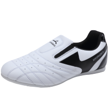Ушу таэквондо обувь для бокса кунг-фу таичи обувь для детей размер 26-45 мальчики девочки тренировочные кроссовки