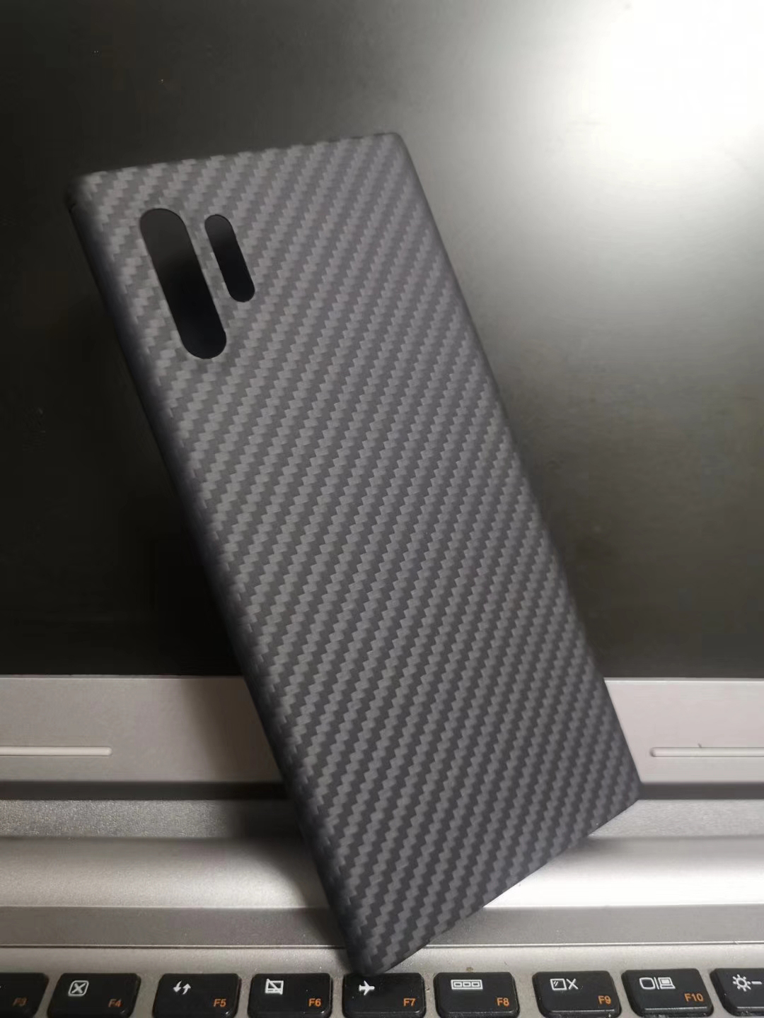 ENMOV Real Carbon Fiber Case Shockproof for Samsung Galaxy Note10 Matte Carbon Fiber Shockproof Cover For Samsung Note10 Plus