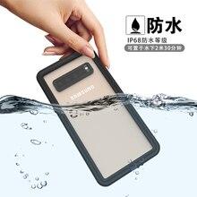 RedPepper wodoodporna IP68 etui na Samsung Galaxy S10 5G pod wodą, odporna na wstrząsy na zewnątrz jasny ochronna tylna pokrywa Coque