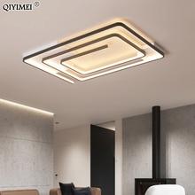 Lámpara de araña minimalista moderna para dormitorio, pasillo, sala de estar, comedor, armario cuadrado redondo, lámparas de hogar cálidas para interior, nueva