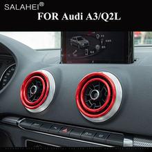4 шт/компл автомобильные круглые наклейки кольца для вентиляционных