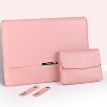 Pu Leather Laptop Bag Sleeve Case For 12 13 14 15.4 15.6 inch Waterproof Notebook Case For Macbook Air Pro Dell HP Lenovo ASUS
