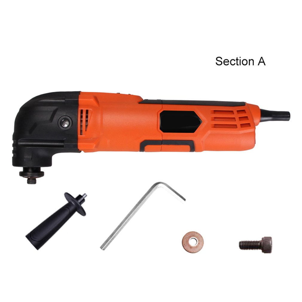 260W Multi-Function Electric Cutter Trimmer Woodworking Oscillating Tools Electric Saw Renovator Tool  Multimaster