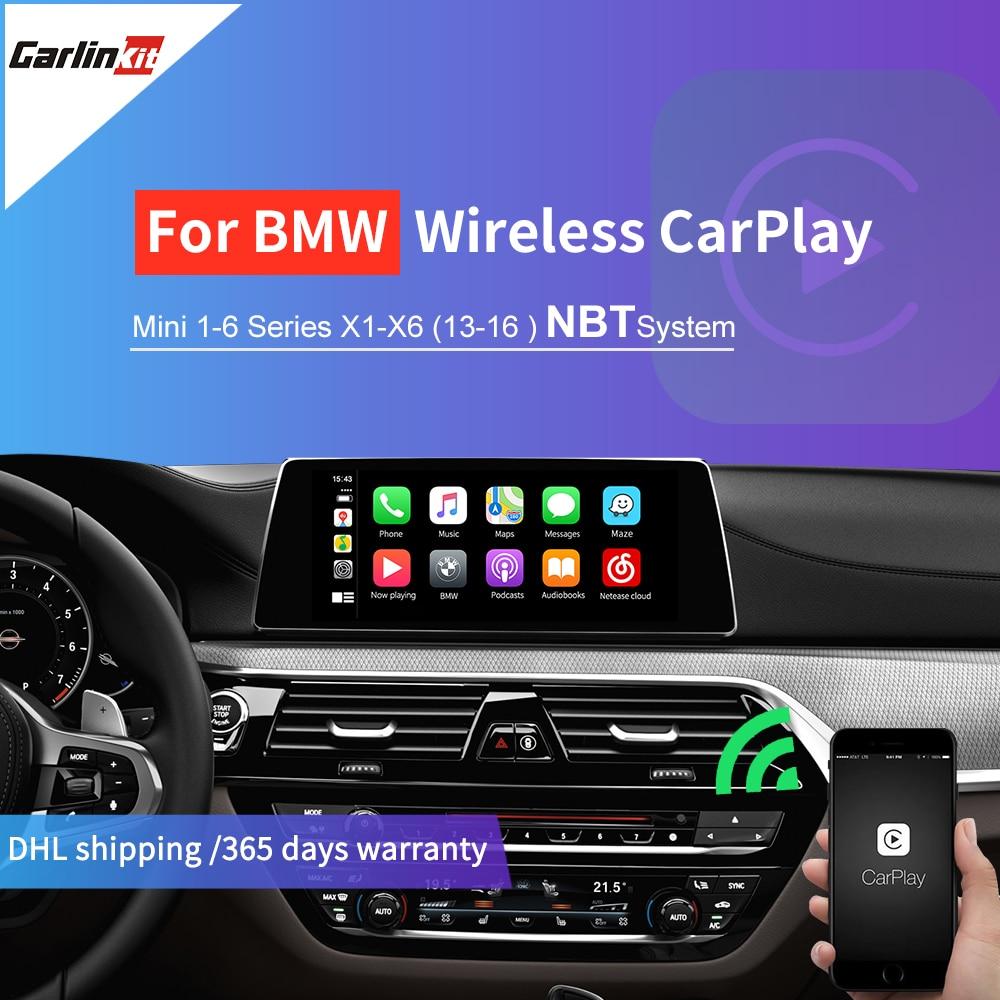 Carlinkit Wireless Apple Carplay  Android Auto  Mirrorlink  Control voice   for BMW MiNi X1 X3 X4 X5 X6 With Wireless NBT System