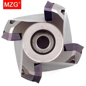 Image 2 - MZG KM12R50 22 4T Four SEKT1204 Carbide Insert Clamped Fast Feeding Alloy End Mill Milling Machining Slab Face Milling Cutter