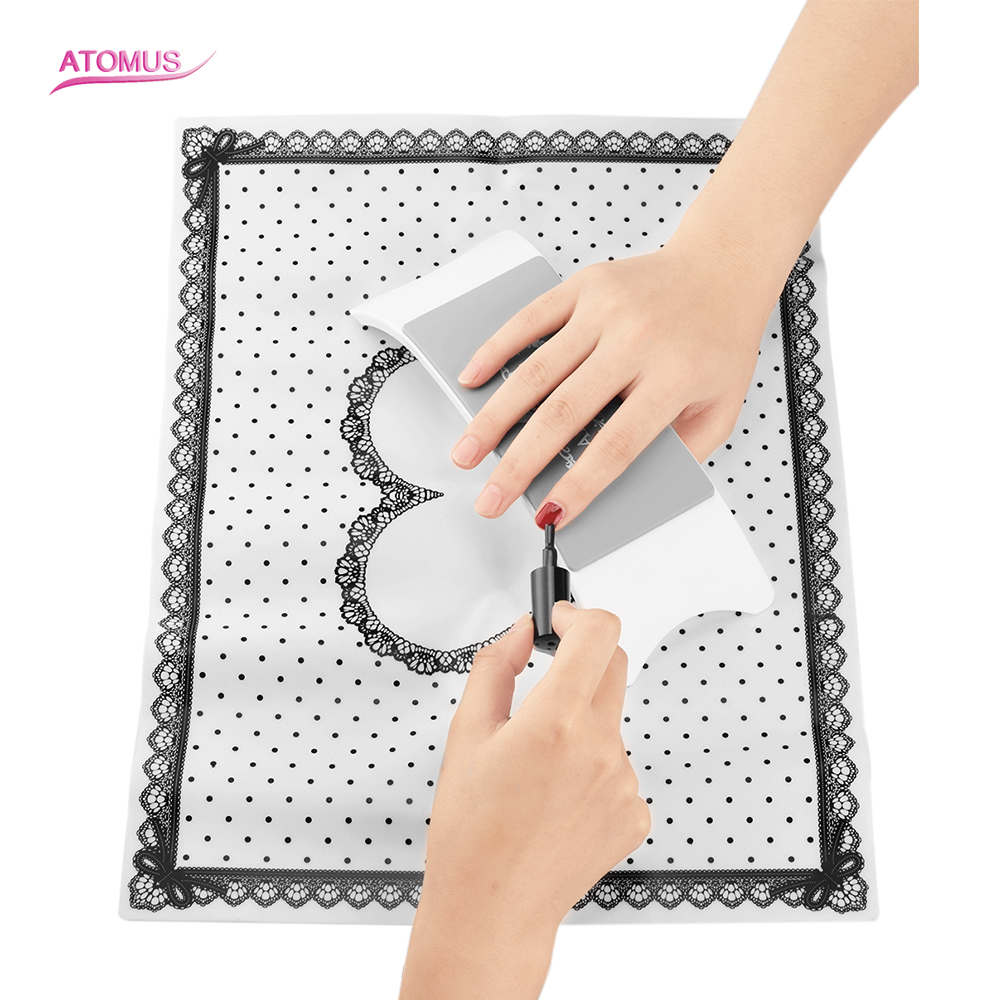 Arm Hand Rest Holder Manicure Makeup Tool Foldable Table Mat Pad Hands Pillow Silicone Nails Mat Hand Pillow For Nailart Rest