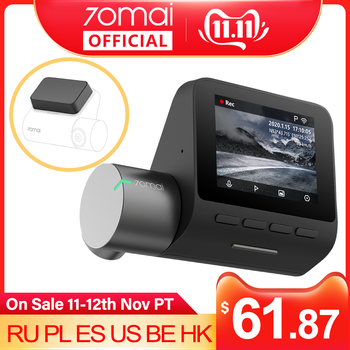 70mai Dash Cam Pro 1944P speed and GPS coordinates Cam Voice Control Parking Monitor Night Vision Wifi 70 Mai Car DVR Pro