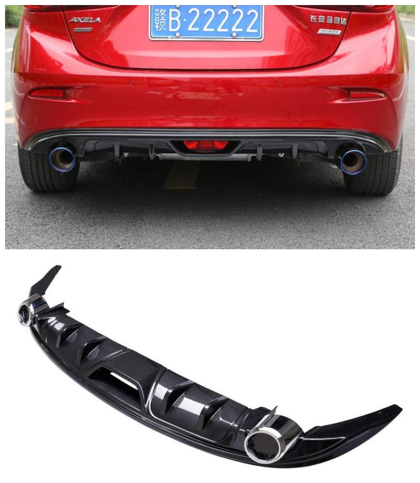 butterfly mazda 3 exhaust