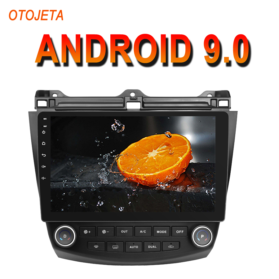 OTOJETA Android 9.0 2.5D Screen Car Radio Player For <font><b>Honda</b></font> <font><b>ACCORD</b></font> <font><b>7</b></font> SWC bluetooth Multimedia Stereo GPS Navi tape recorder image