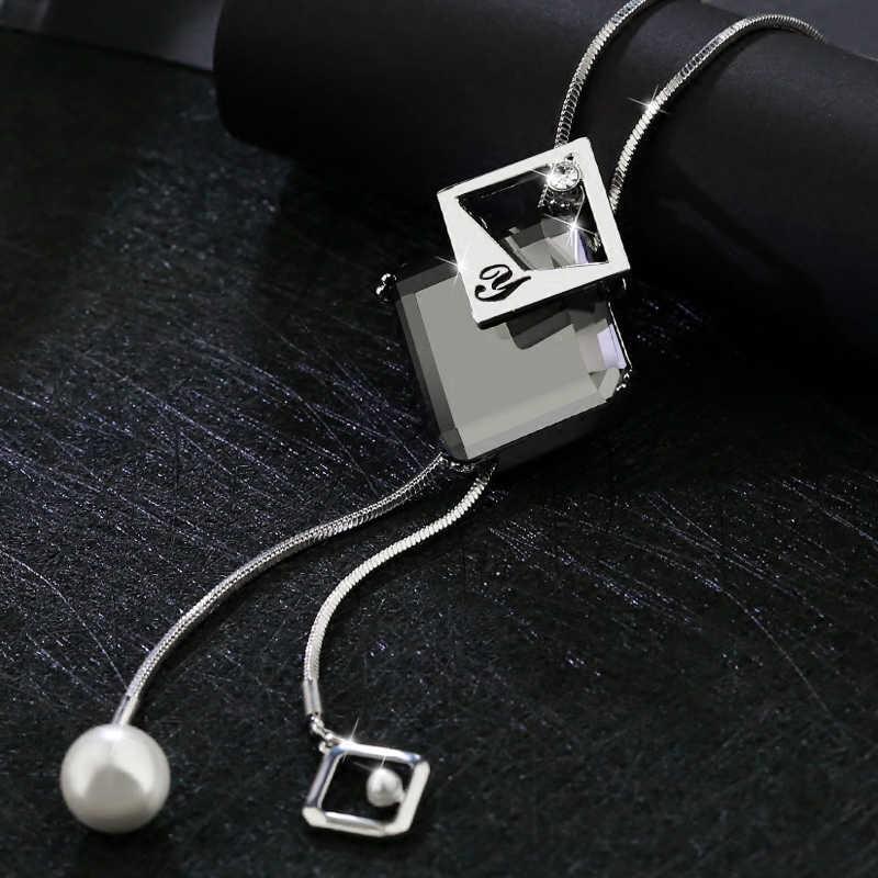 Colar de colar de jóias de moda de moda para mulheres colar de jóias